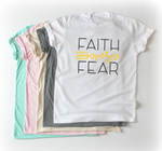 Faith Over Fear - LITE Imprints