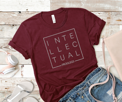 Intellectual FrogLegs Ladies Boyfriend Fit T-Shirt - LITE Imprints