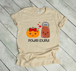 Pumpkin Spice Power Couple - LITE Imprints