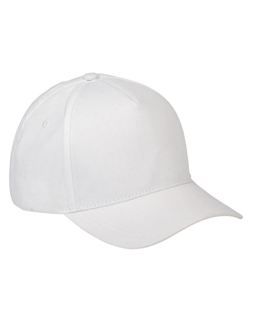 5-Panel Brushed Twill Cap