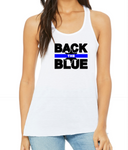 Back The Blue Tank - LITE Imprints