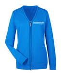 Ladies' Full-Zip Cardigan Sweater - LITE Imprints