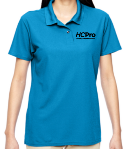 Ladies's Double Piqué Polo - LITE Imprints