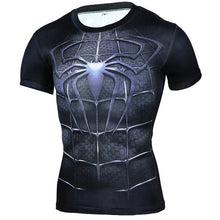 Load image into Gallery viewer, 3D Winter Soldier T-shirt Captain America 3 Men Compression Fitness Crossfit Top Halloween T shirt Superman Tee 2017 ZOOTOP BEAR