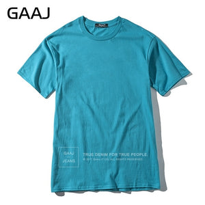 2018 T Shirt Men 100% USA Cotton Hip Hop Basic Blank T-shirt For Mens Fashion Tshirt Summer Top Tee Tops Pink White Green XS 3XL - Classic Custom Tshirt