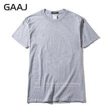 Load image into Gallery viewer, 2018 T Shirt Men 100% USA Cotton Hip Hop Basic Blank T-shirt For Mens Fashion Tshirt Summer Top Tee Tops Pink White Green XS 3XL - Classic Custom Tshirt