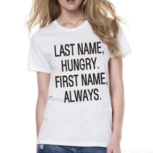 Load image into Gallery viewer, New Funny Words Print Woman Letters T shirt Girls Short Sleeve Leisure Tops - Classic Custom Tshirt