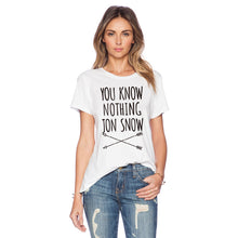 Load image into Gallery viewer, Summer Style Women Funny Letters Print Casual T shirt Girls Short Sleeve O-neck Tops - Classic Custom Tshirt