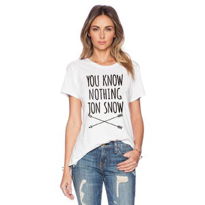 Summer Style Women Funny Letters Print Casual T shirt Girls Short Sleeve O-neck Tops - Classic Custom Tshirt