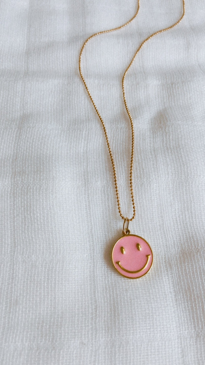 Pink Dainty Smiley