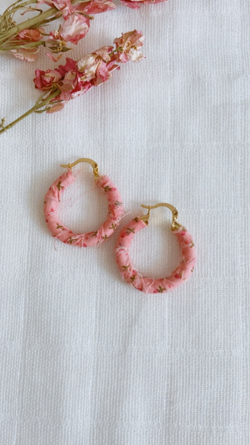 Jane Taylor Medium Hoops