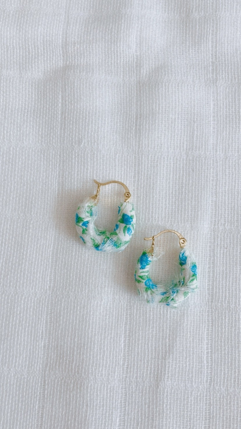 Jane Taylor Mini Hoops