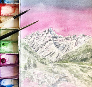 Virtual Watercolor Workshops