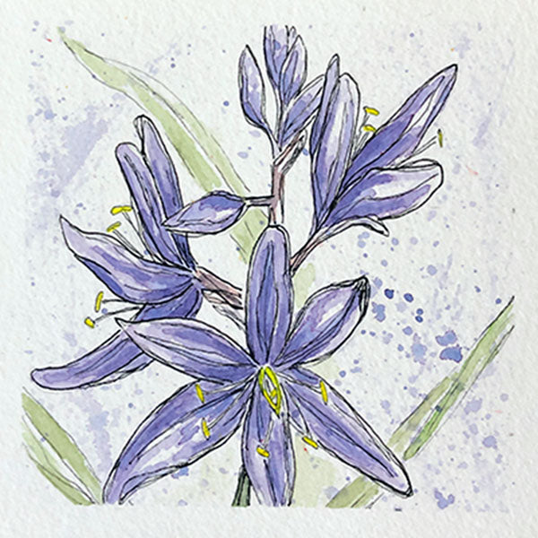 Camas Mini Original Painting
