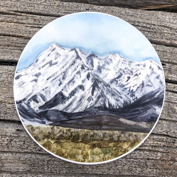 Eastern Sierras Sticker