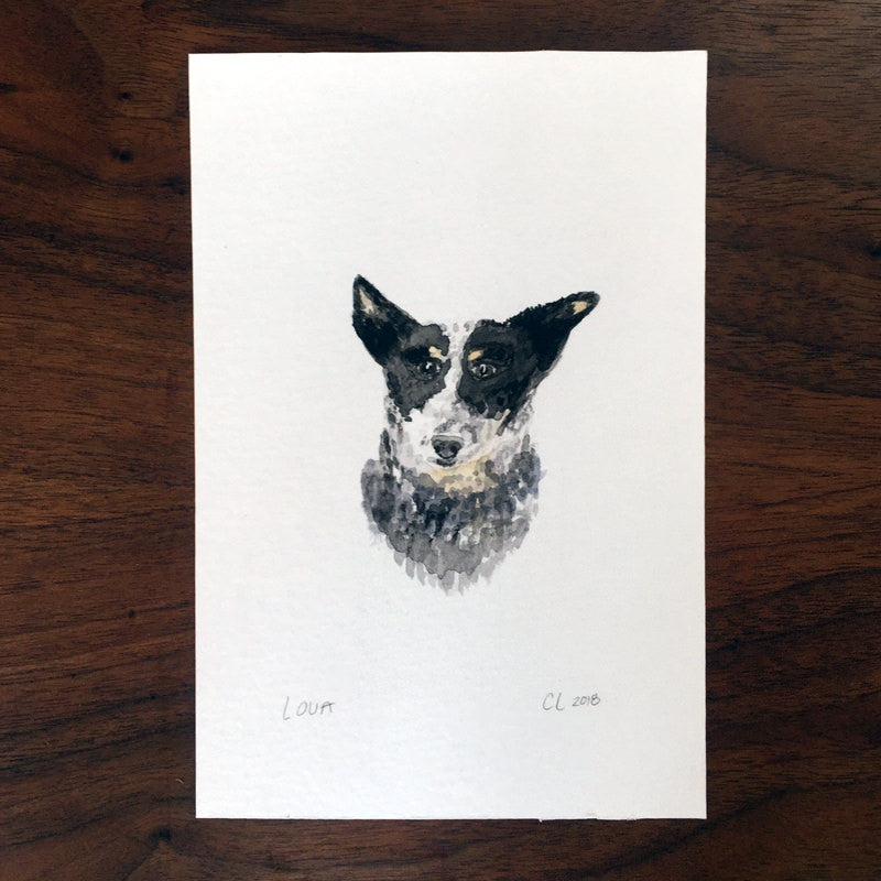 "Pet Portrait - 5""x7"""