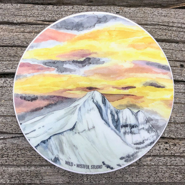 Lone Mountain Sticker