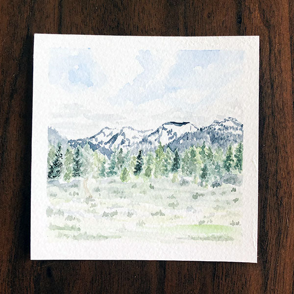 Custom Mini Landscape Painting