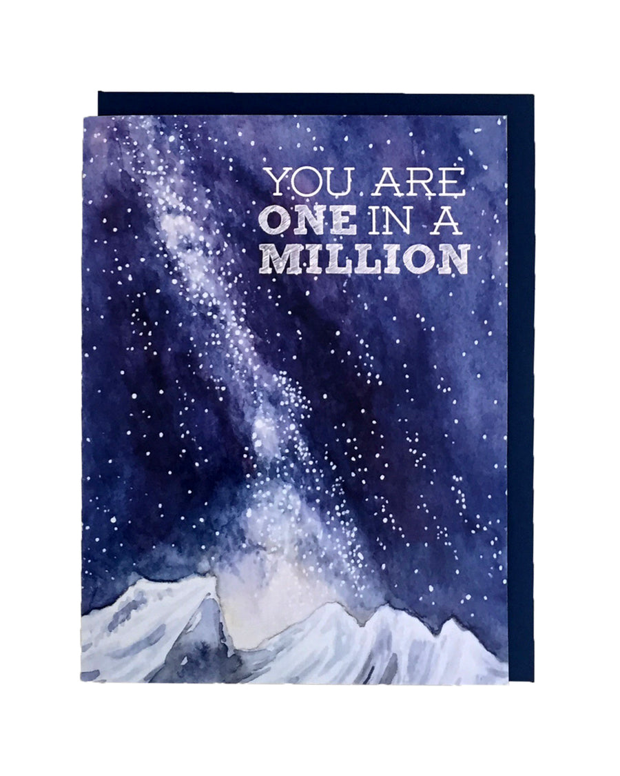 One In A Million Card