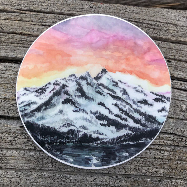 Mount Tallac Sticker