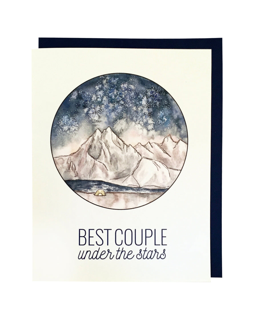 Best Couple Under the Stars Card