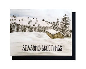 Season's Greetings Card Set of 6
