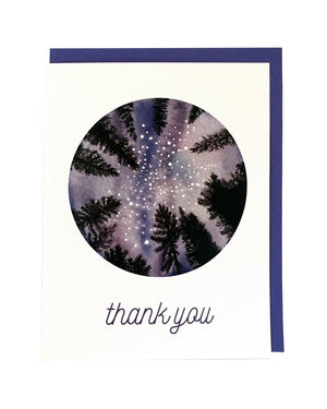 Thank You Night Sky Card Set of 6
