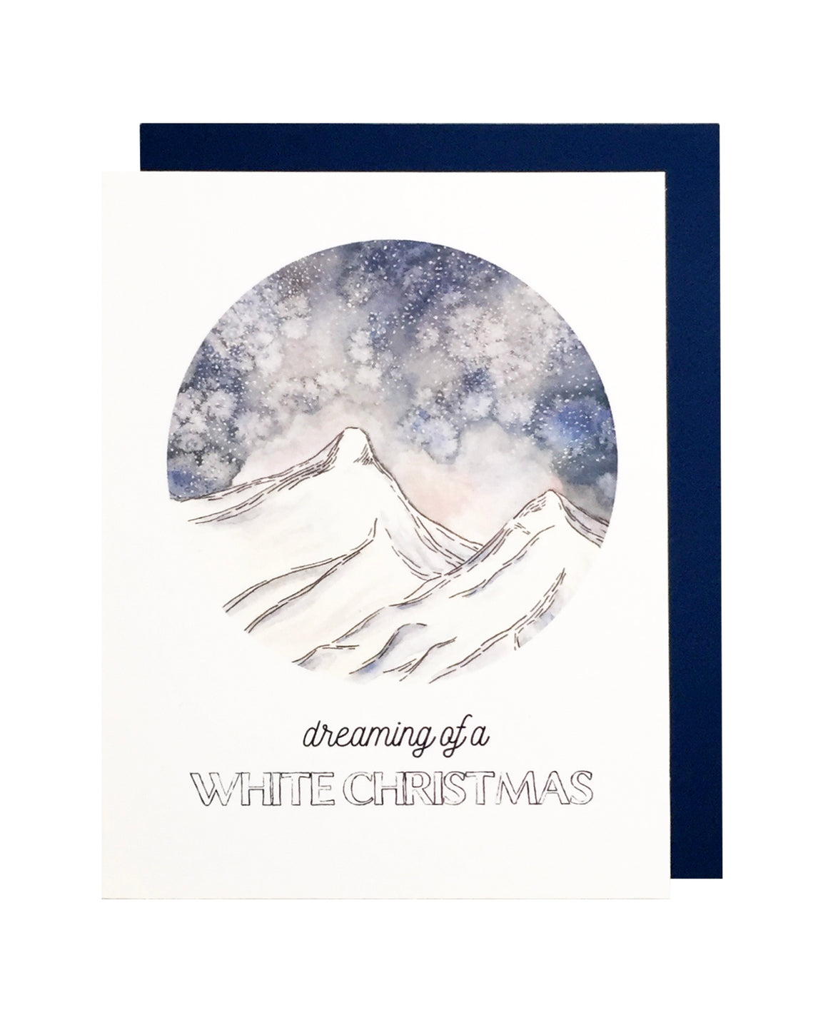 Dreaming of a White Christmas Card Set of 6