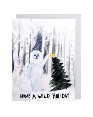 Yeti Holiday Card Set of 6