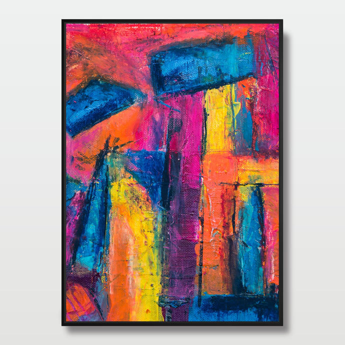 Mentally Colorful - Paintings - Roumies Affordable Art - www.Roumies.com