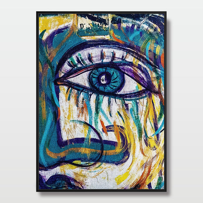 Abstract Eye - Paintings - Roumies Affordable Art - www.Roumies.com
