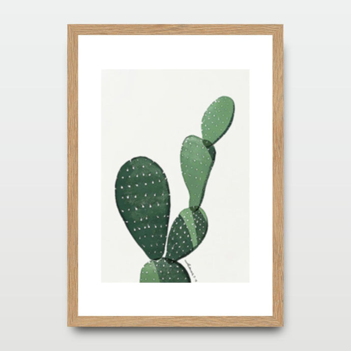 Cactus Prickly Pear - Prints - Roumies Affordable Art - www.Roumies.com