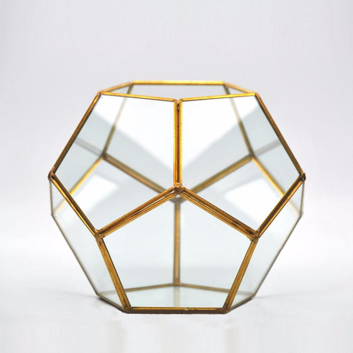 Geometric Plant & Candle Pot - Decor - Roumies Affordable Art - www.Roumies.com
