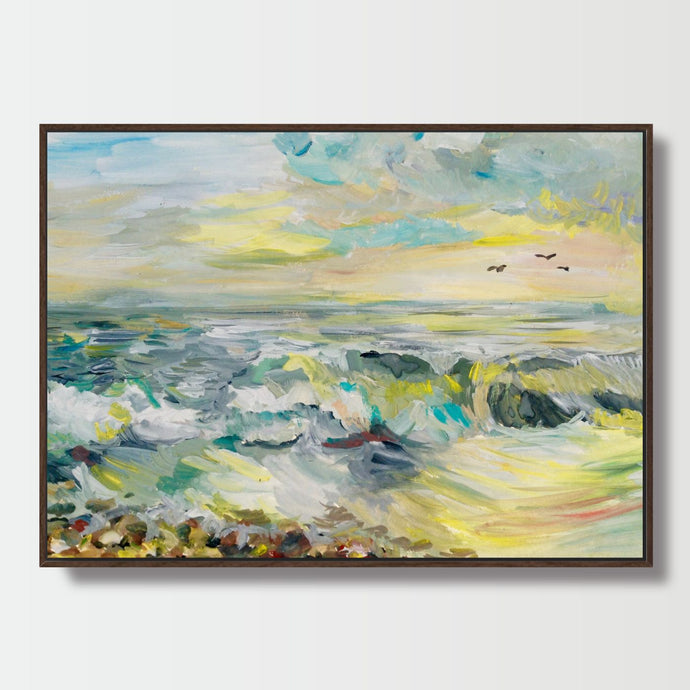 Coastal Watercolors - Paintings - Roumies Affordable Art - www.Roumies.com