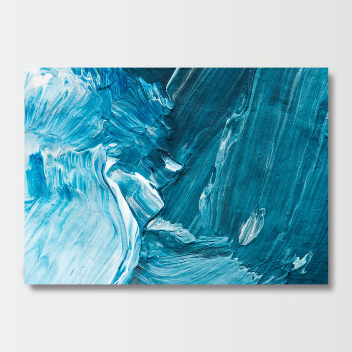 Aerial Blues - Paintings - Roumies Affordable Art - www.Roumies.com