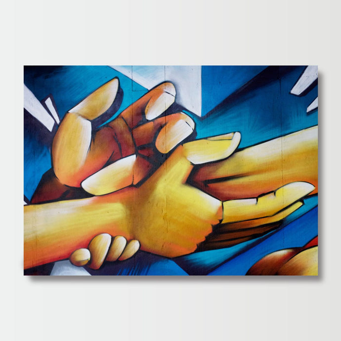 Hands Mural - Paintings - Roumies Affordable Art - www.Roumies.com