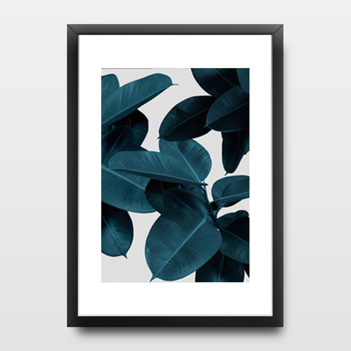 Dark Green Leaves - Prints - Roumies Affordable Art - www.Roumies.com