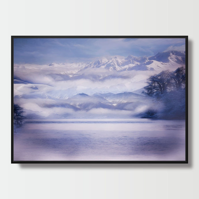 Cloudy View - Paintings - Roumies Affordable Art - www.Roumies.com