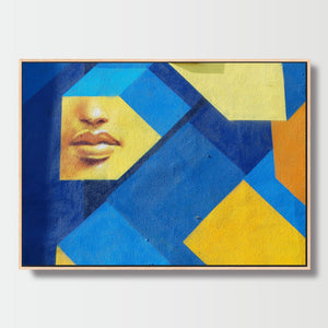 Humans & Shapes - Paintings - Roumies Affordable Art - www.Roumies.com