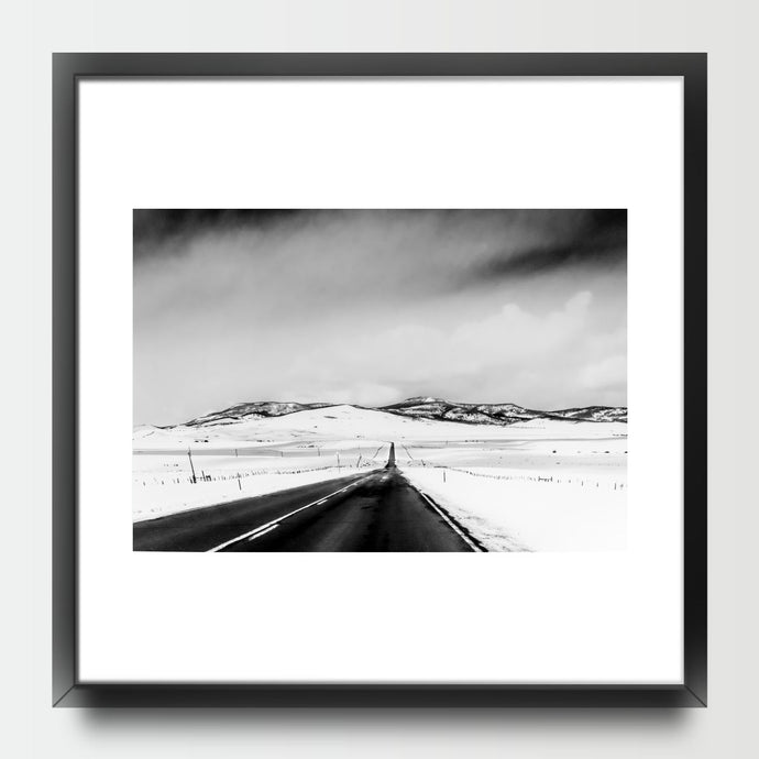 Road Black and White - Prints - Roumies Affordable Art - www.Roumies.com