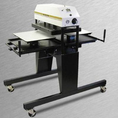 "394-MTS  Twin Station Air Shuttle Press 20"" x 25"""