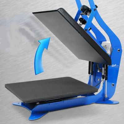 "DK16A - 14"" x 16"" Automatic Release Clamshell Press"