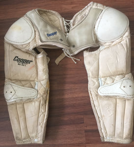 Vintage Copper SA 95 Shoulder and Arm Pads