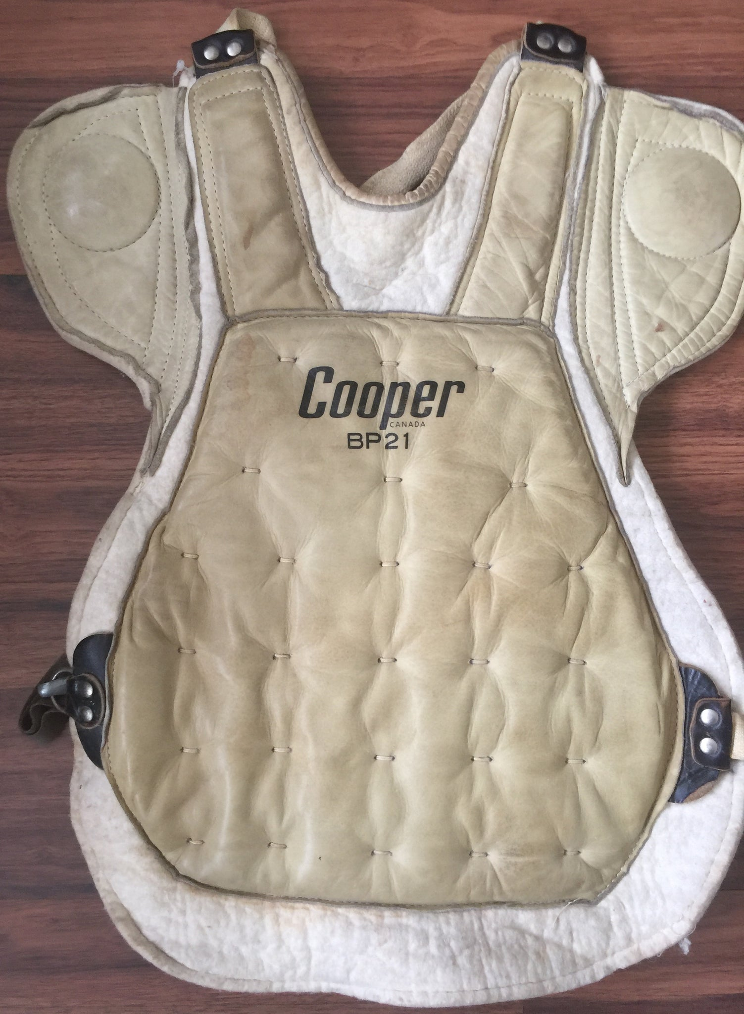 Vintage Cooper BP 21 Chest Protector