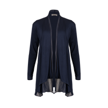 Load image into Gallery viewer, Navy-blue Pure Cotton Cardigan