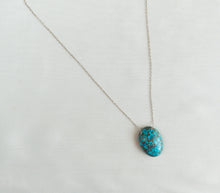 Load image into Gallery viewer, Sterling Silver Amazonite Gemstone Necklace