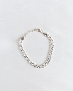 Sterling Silver Braided Chain Bracelet