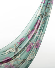 Load image into Gallery viewer, Minty Dreams Chiffon Scarf