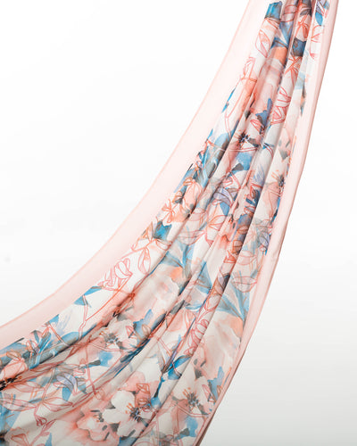 Summer Bliss Chiffon Scarf