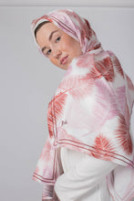 Load image into Gallery viewer, Pink Coral Silk Scarf